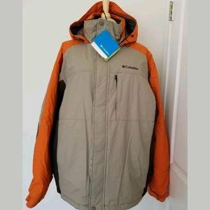 Columbia Men's Omni Tan Winter Jacket XL